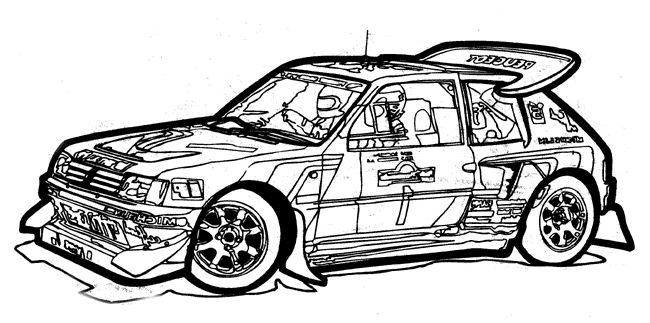 Раскраски гоночные машины » Скачать лучшие картинки ...