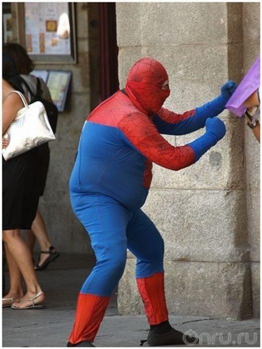 того, человек паук толстый картинки представляешь, как много