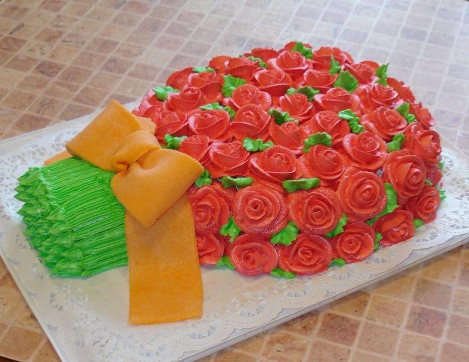 фанаты картинки торт в виде букета роз материалы для цветочных