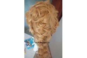 Плетение кос обучение в картинках