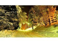 Очень красивые широкоформатные картинки зима