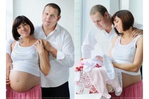 Красивые картинки беременной с мужем