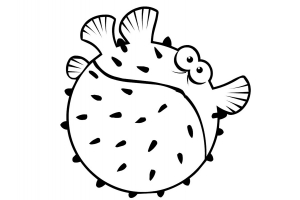 Рыбки картинки для детей раскраски