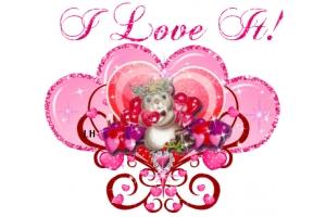 Картинки сердечки красивые блестящие