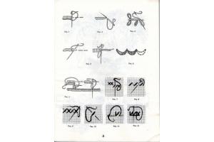 Рисунки вышивки ришелье