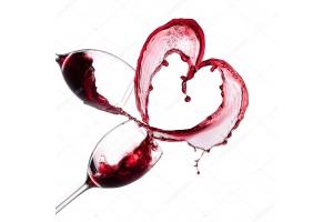 Красное вино фото