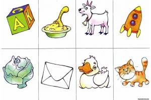 Сюжетные картинки для детей 3 4 лет