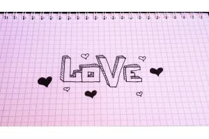 Простые рисунки про любовь