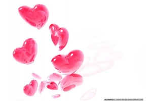 Картинки сердечки красивые на белом фоне
