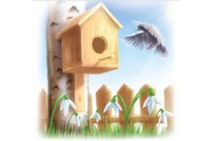 Картинки рисунков детей про весну
