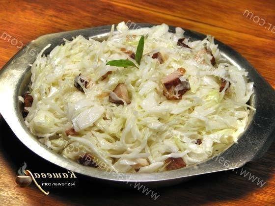 рецепт капусты белокочанной