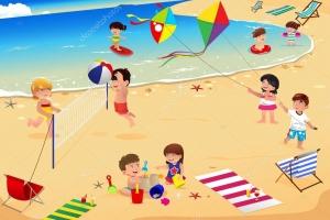 Море картинки для детей