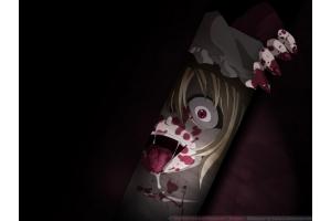 Картинки аниме с кровью