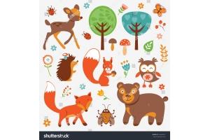 Картинки крота с детенышами для детей