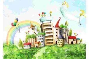 Картинки красивые волшебные домики