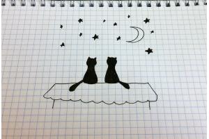 Прикольные рисунки в тетради