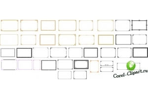 Рамки для фото corel