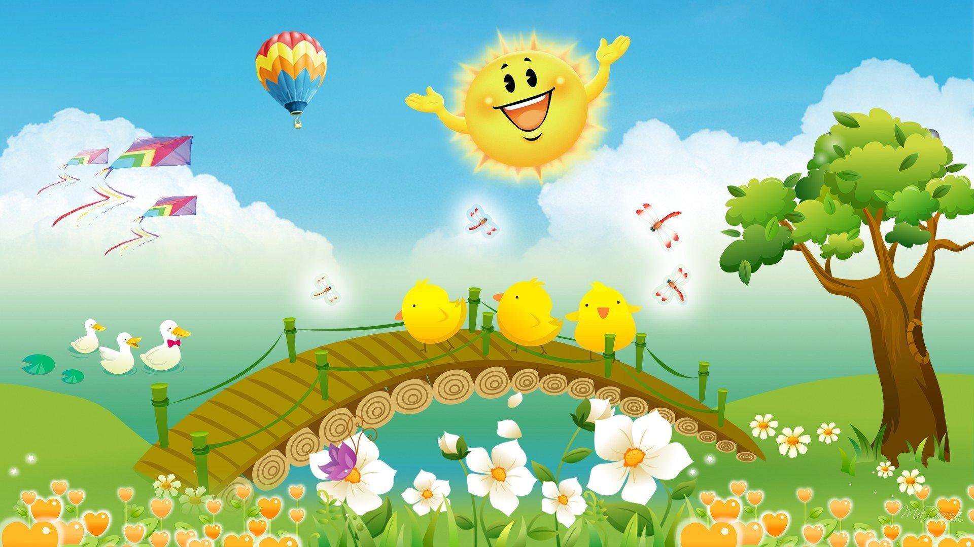 риэлторов красивые открытки про весну и солнышко были