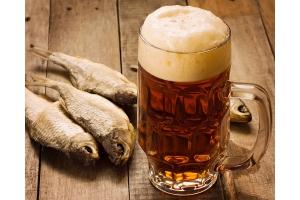 Пиво с рыбкой фото
