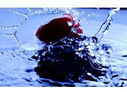 Широкоформатные картинки капли воды