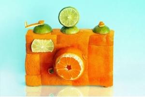 Поделка из апельсина фото