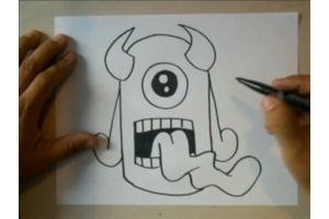 Граффити для начинающих на бумаге