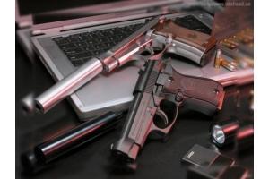 Обои на компьютер оружие