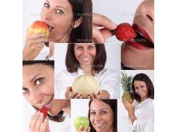 Женщины-фрукты фото