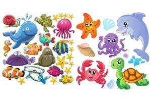 Картинки морские для детей