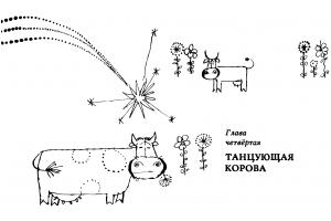Корова картинки для детей нарисованные