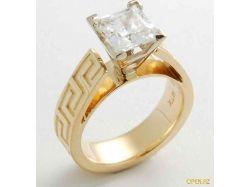 Обручальное кольцо вера-надежда-любовь фото