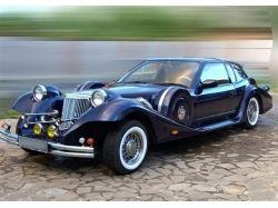 Медведев и ретро автомобили