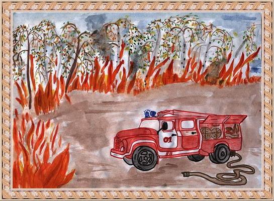 Доброго утра, картинки на пожарную тему для детей 2-3 лет