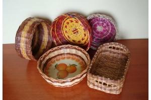 Плетение из лозы фото