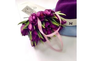 Картинки тюльпаны красивые букеты розовые