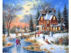 Новые красивые картинки зима