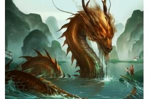 Китайские драконы картинки красивые
