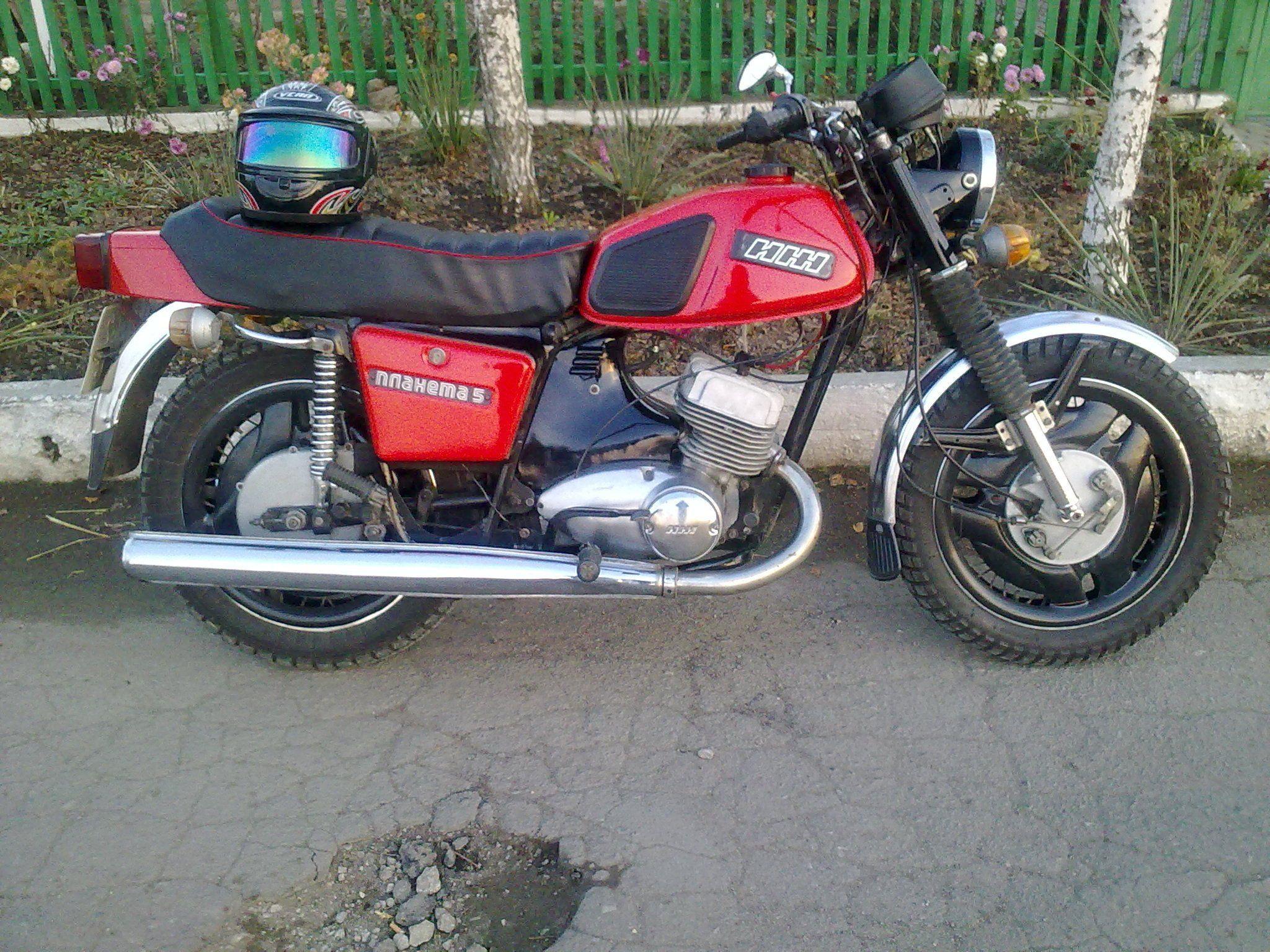 Тюнинг мотоцикла иж в картинках