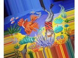 Конкурс рисунка подводный мир