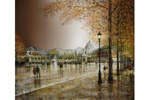 Париж осень фото