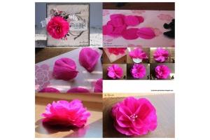 Картинки цветы из бумаги