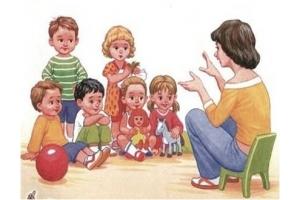 Картинки дети играют на улице в детском саду