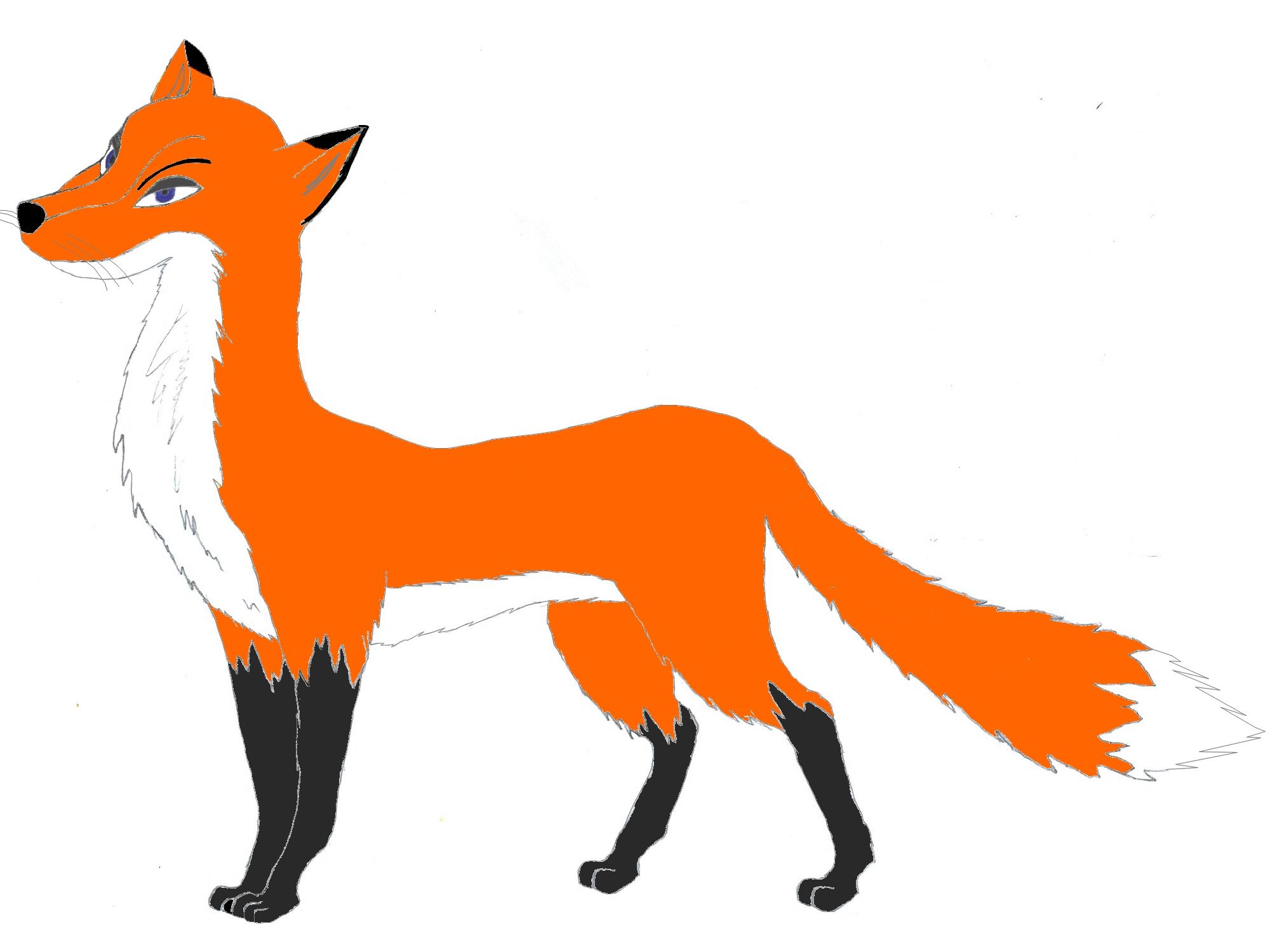 Фигуристов, картинки для детей рисованные лиса