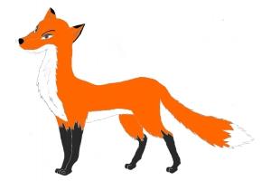 Картинка лиса для детей лиса
