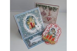 Скрапбукинг новогодние открытки фото