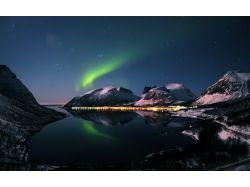Картинки зима ночь горы