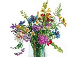 Картинки цветы для бисера