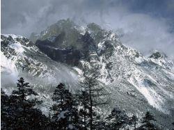 Фото зима в альпийских горах