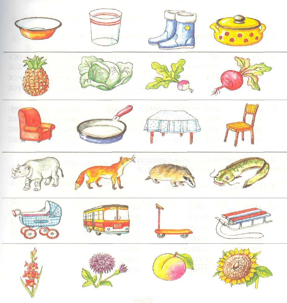 Логопедические темы в картинках