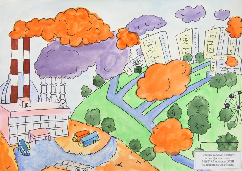 Рисунок экология и безопасность